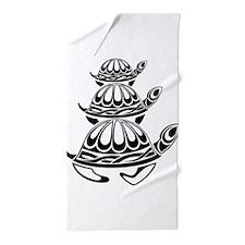 Trio of Turtles Beach Towel