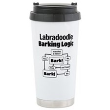 Labradoodle logic Travel Coffee Mug