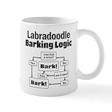 Labradoodle Standard Mugs (11 Oz)