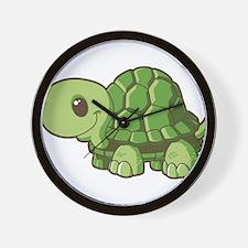 Baby Green Turtle-3 Wall Clock