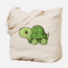Baby Green Turtle-3 Tote Bag