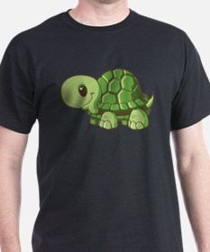 Baby Green Turtle-3 T-Shirt