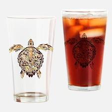 Filigree Turtle Drinking Glass