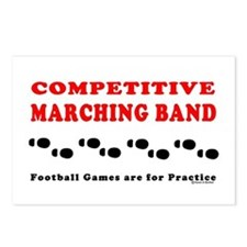 Marching Band Footprints Postcards (Package of 8)