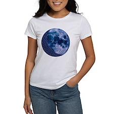Celtic Knotwork Blue Moon Tee
