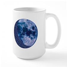 Celtic Knotwork Blue Moon Mug