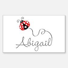 Ladybug Abigail Decal