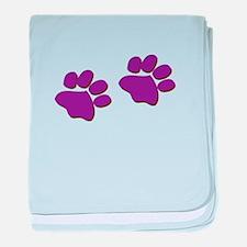 Dog Prints baby blanket