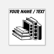 Custom Books Sticker