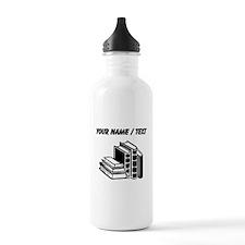 Custom Books Water Bottle