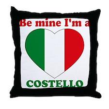 Costello, Valentine's Day Throw Pillow