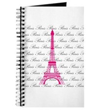 Pink and Black Paris Journal
