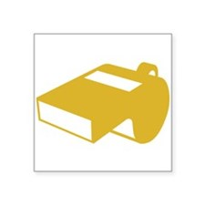 Golden Whistle Sticker