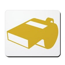 Golden Whistle Mousepad