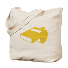 Golden Whistle Tote Bag