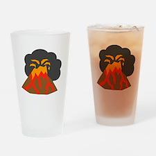 Erupting Volcano Drinking Glass