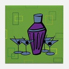 Retro Martini Tile Coaster