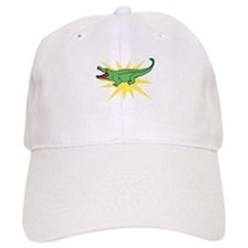 Sun Alligator Baseball Baseball Cap