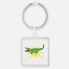 Sun Alligator Keychains