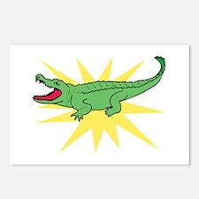 Sun Alligator Postcards (Package of 8)