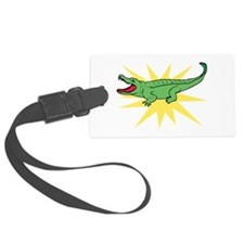 Sun Alligator Luggage Tag