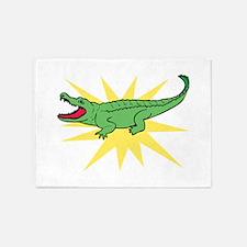 Sun Alligator 5'x7'Area Rug