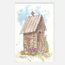 Tin Roof Postcards (Package of 8)