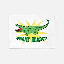 Swamp Dragon 5'x7'Area Rug