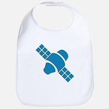Blue Satellite Bib