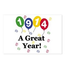 1914 A Great Year Postcards (Package of 8)