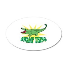 Swamp Thing Wall Decal