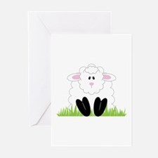 Little Lamb Greeting Cards