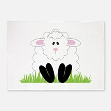 Little Lamb 5'x7'Area Rug