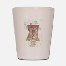 Cute Outhouse Shot Glass