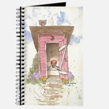 Cute Outhouse Journal