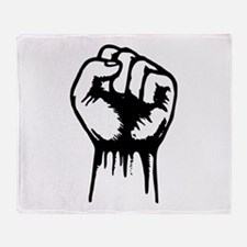 Fist Throw Blanket