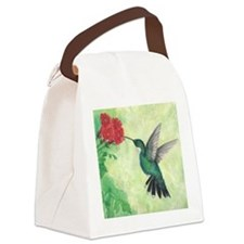 Cute Flowers Canvas Lunch Bag
