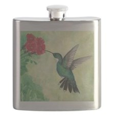 Cute Hummingbirds Flask