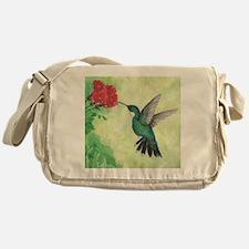 Funny Flower Messenger Bag
