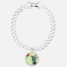 Cool Flower Charm Bracelet, One Charm