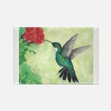 Cool Green art Rectangle Magnet