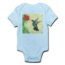 Cute Hummingbird art Infant Bodysuit