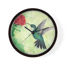 Unique Watercolor Wall Clock