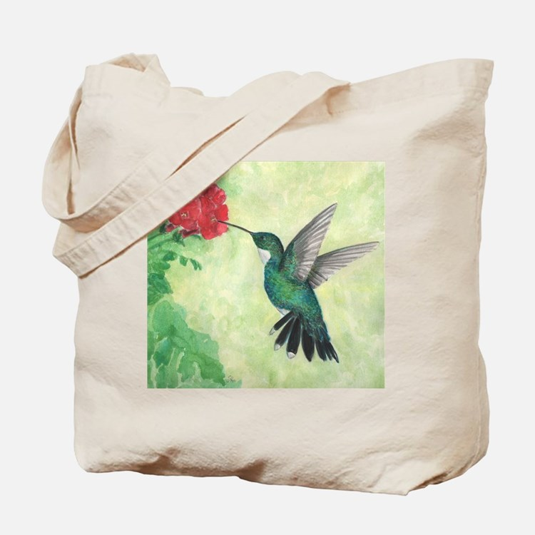 Cute Hummingbird Tote Bag
