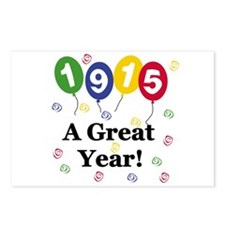 1915 A Great Year Postcards (Package of 8)