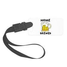 Home Brewed Luggage Tag