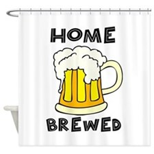 Home Brewed Shower Curtain