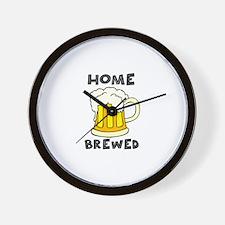 Home Brewed Wall Clock