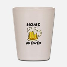 Home Brewed Shot Glass