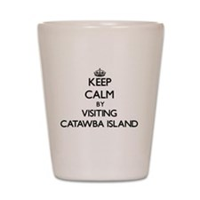 Cute Catawba island Shot Glass